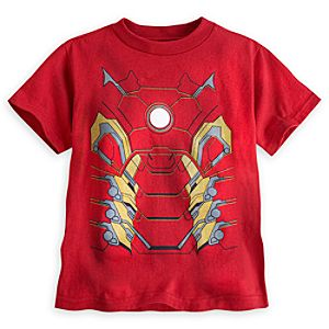 Iron Man Costume Tee for Boys