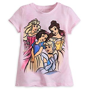 Disney Princess Tee Shirt for Girls