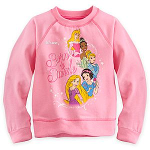 Disney Princess Sweatshirt for Girls - Personalizable