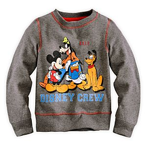 Mickey Mouse and Friends Sweatshirt for Boys - Personalizable