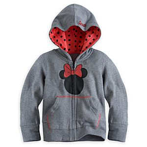 Minnie Mouse Icon Hoodie for Girls - Personalizable