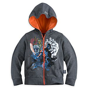 Darth Vader and Imperial Forces Hoodie for Boys - Personalizable