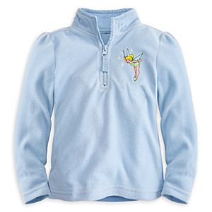 Tinker Bell Fleece Pullover for Girls