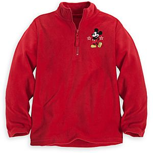 Personalizable Mickey Mouse Fleece Pullover for Boys