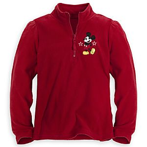 Personalizable Mickey Mouse Fleece Pullover for Girls