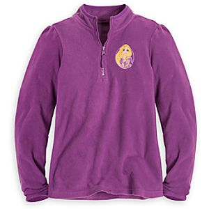Personalizable Rapunzel Fleece Pullover for Girls