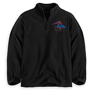Personalizable Spider-Man Fleece Pullover for Boys