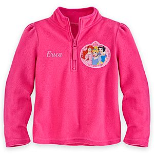 Disney Princess Fleece Pullover for Girls - Personalized
