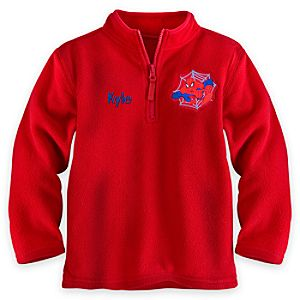 Spider-Man Fleece Pullover for Boys - Personalizable