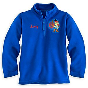 Jake Fleece Pullover for Boys - Personalizable
