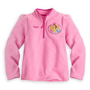 Disney Princess Fleece Pullover for Girls - Personalizable