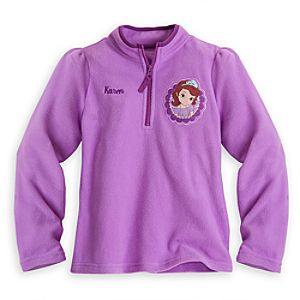 Sofia Fleece Pullover for Girls - Personalizable