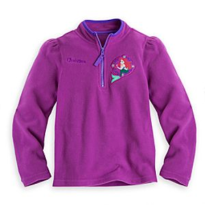 Ariel Fleece Pullover for Girls - Personalizable