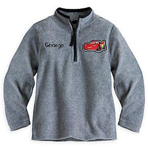 Lightning McQueen Fleece Pullover for Boys - Personalizable