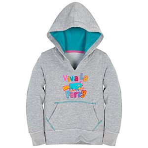 Viva La Perry Perry the Platypus Pullover Hoodie for Girls