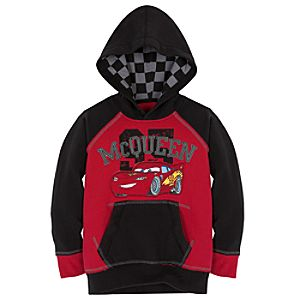 Raglan Pullover Lightning McQueen Hoodie for Boys