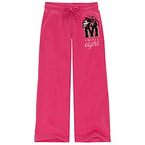 Fleece Minnie Mouse Pants for Girls
