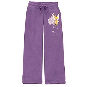 Fleece Tinker Bell Pants for Girls