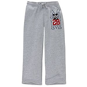 Fleece Mickey Mouse Pants for Boys