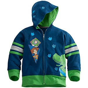 Zip Fleece Toy Story Hoodie for Boys