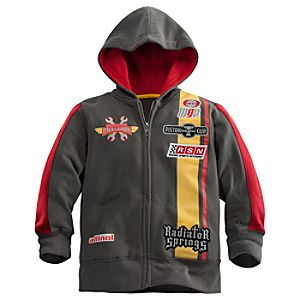 Zip Fleece Lightning McQueen Hoodie for Boys