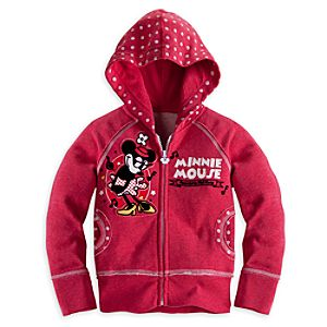 Minnie Mouse 1928 Hoodie for Girls