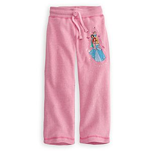 Fleece Disney Princess Pants for Girls