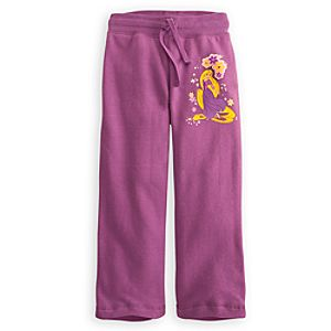 Fleece Rapunzel Pants for Girls