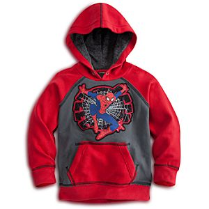 Pullover Fleece Spider-Man Hoodie for Boys