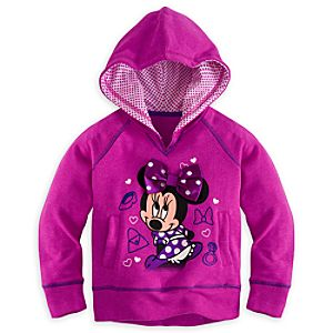 Minnie Mouse Hoodie Pullover for Girls