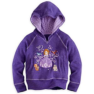 Sofia Hoodie Pullover for Girls