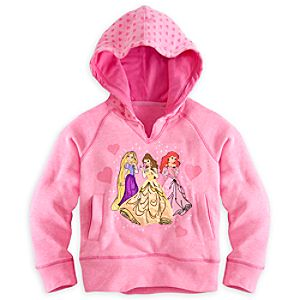 Disney Princess Hoodie Pullover for Girls