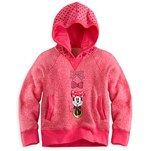 Minnie Mouse Pullover Hoodie for Girls