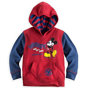 Mickey Mouse Pullover Hoodie for Boys