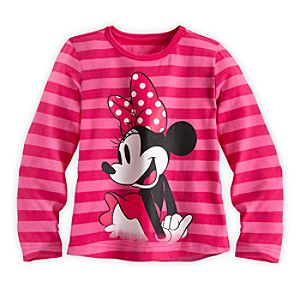 Minnie Mouse Long Sleeve Tee for Girls