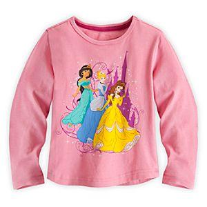 Disney Princess Long Sleeve Tee for Girls