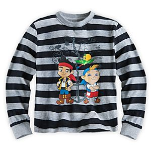 Jake and the Never Land Pirates Long Sleeve Tee for Boys