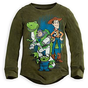 Toy Story Thermal Tee for Boys