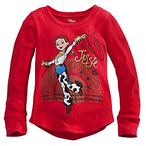 Long Sleeve Thermal Jessie Tee for Girls