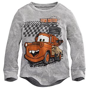 Long Sleeve Thermal Tow Mater Tee for Boys