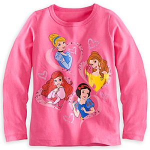 Disney Princess Long Sleeve Tee for Girls