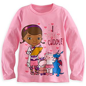 Doc McStuffins Long Sleeve Tee for Girls
