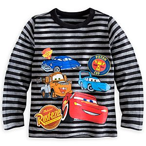 Cars Long Sleeve Tee for Boys