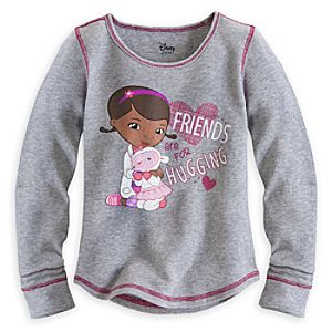 Doc McStuffins Long Sleeve Thermal Tee for Girls