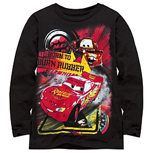 Long Sleeve Mater and Lightning McQueen Tee for Boys -- Made With Organic Cotton