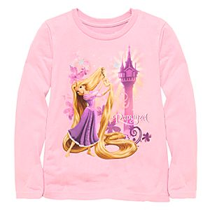 Long Sleeve Rapunzel Tee for Girls -- Made With Organic Cotton