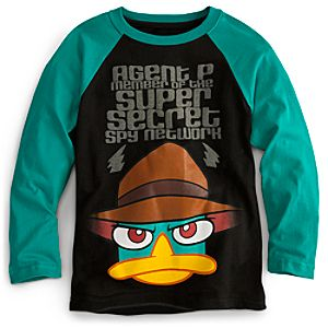Agent P Tee for Boys