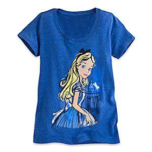 Alice in Wonderland Sketch Tee for Women