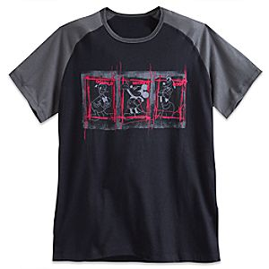 Mickey Mouse and Friends Raglan Tee for Men