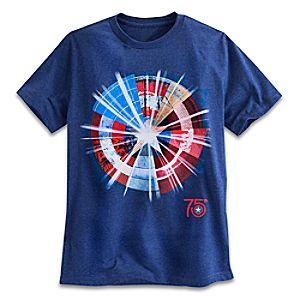 Captain America 75th Anniversary Shield Tee for Men